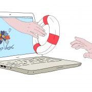 טיפול פסיכולוגי באינטרנט